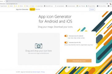 App icons generator