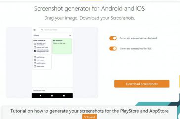 Screenshots Generator